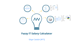 Fuzzy IT Salary Calculator