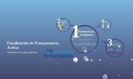 Fiscalización de Transparencia Activa: