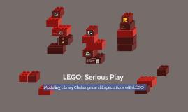 LEGO: Serious Play