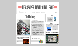 Copy of NEWSPAPER TOWER CHALLENGE