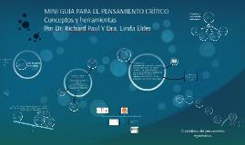 Copy of MINI GUIA PARA EL PENSAMIENTO CRÍTICO