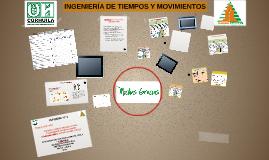 INGENIERÍA DE TIEMPOS Y MOVIMIENTOS