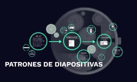 PATRONES DE DIAPOSITIVAS