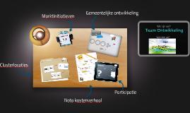 Copy of Presentatie Team Ontwikkeling