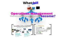 A Timeline for Operations