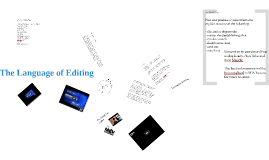 Editing for Effect - Language of Editing