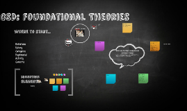 Copy of CSD: Foundational Theories