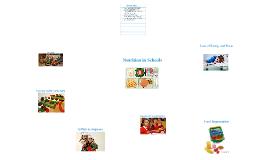 Copy of Nutrition in Schools