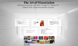 The Art of Dissociation