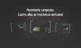 Cuatro años de resistencia anticanal