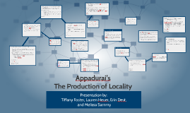 The Production of Locality