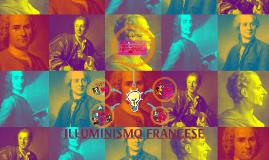 ILLUMINISMO FRANCESE