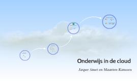 Onderwijs in de cloud