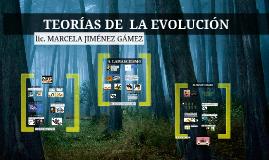 teorias evolutivas (gracias mar)