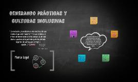 """""""La inclusión consiste en transformar los sistemas educativo"""