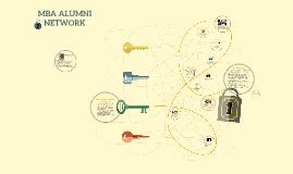 Copy of MBA ALUMNI NETWORK