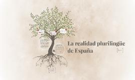Copy of La realidad plurilingüe de España
