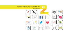 Comunicación y Promoción de servicios