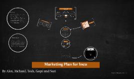 Marketing Plan for Incu