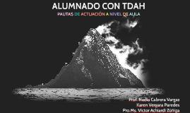Copy of ALUMNADO CON TDAH