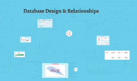 Database Design & Relationships