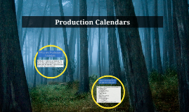 Production Calendars