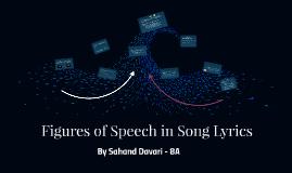 Copy of Figures of Speech in Song Lyrics