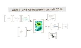 Abfall- und Abwasserwirtschaft 2014