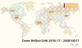 Career Artifact Gr06 2016-17 - 200010017
