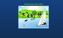 Resultados del Taller