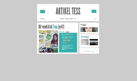 ARTIKEL TESS