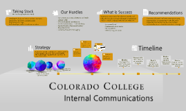 Internal Communications Inventory and Assessment