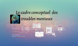 Le cadre conceptuel  des troubles mentaux