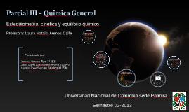 Parcial III-Quimica General
