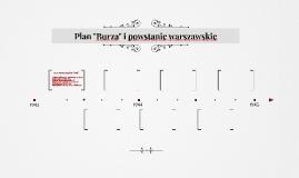 """Plan """"Burza"""" i powstanie warszawskie"""
