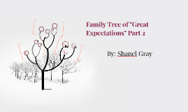 """Family Tree of """"Great Expectations"""" Part 2"""