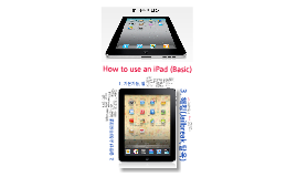 How 2 use an iPad