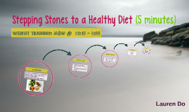Stepping Stones to a Healthy Diet