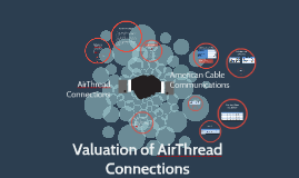 valuation airthread connections A senior associate in the business development group at american cable communications, one of the largest cable companies in the us, must prepare a preliminary valuation for acquiring airthread connections, a regional cellular provider the acquisition would give american cable access to wireless.
