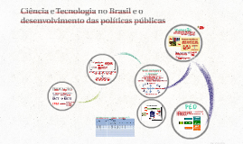Copy of Ciência e Tecnologia no Brasil