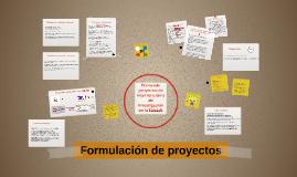 Copy of Formulación de proyectos de intervención y de investigación