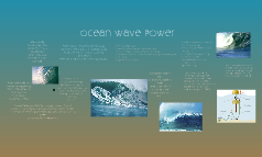 Ocean Wave Power