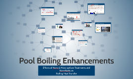 Pool Boiling Enhancments