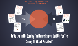 Do We Live In The Country That James Baldwin Laid Out For Th