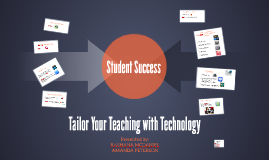Tailor Your Teaching with Technology