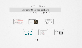 Casualty Clearing Stations