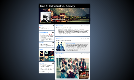 Unit 5: Individual vs. Society (Ibsen)