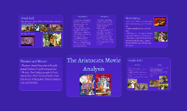 Aristocats Movie Analysis
