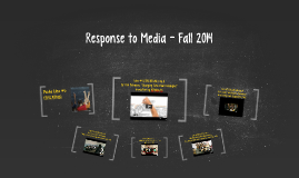 Response to Media - Idea #4 (EDUCATION) Fall 2013