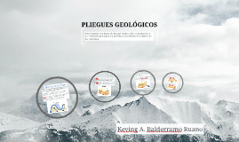 Copy of PLIEGUES GEOLÓGICOS